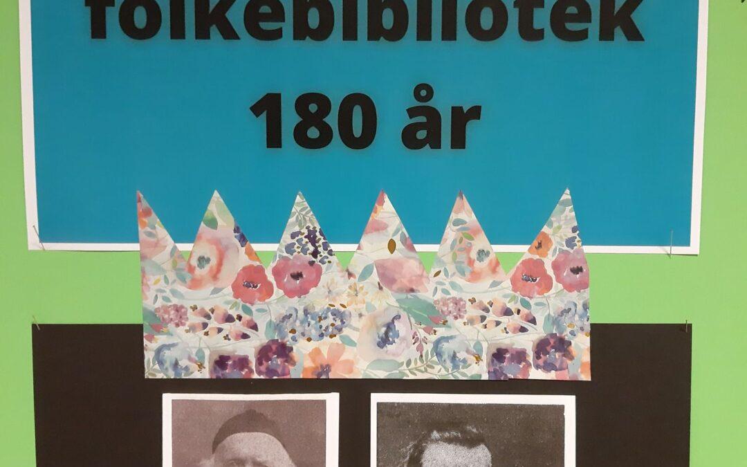Gloppen  folkebibliotek  180  år